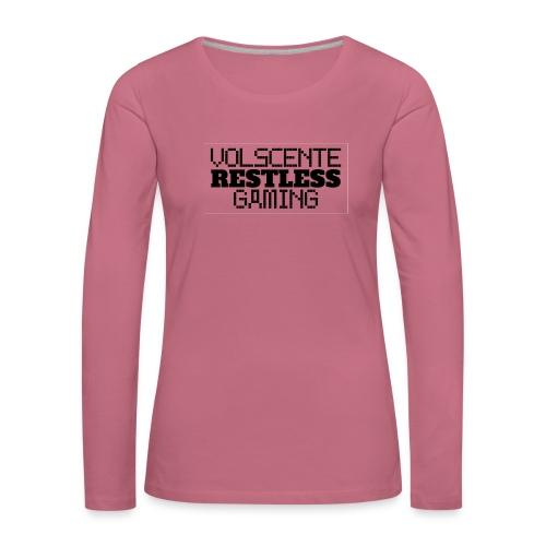 Volscente Restless Logo B - Maglietta Premium a manica lunga da donna