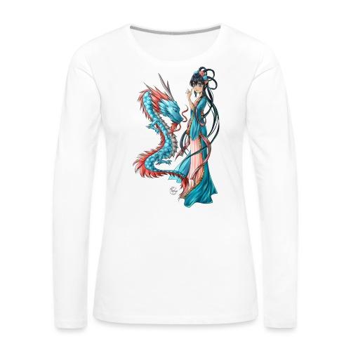 Blue Dragon - T-shirt manches longues Premium Femme