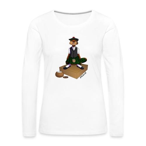 Pimp my Nuki - Égossais - T-shirt manches longues Premium Femme