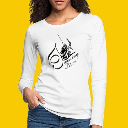 twirling b 2 - T-shirt manches longues Premium Femme