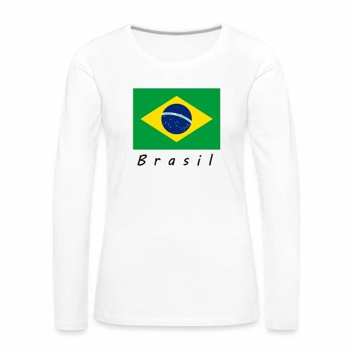 Brasil - Frauen Premium Langarmshirt