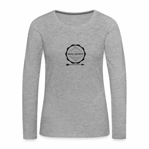 REAL ESTATE. - Camiseta de manga larga premium mujer