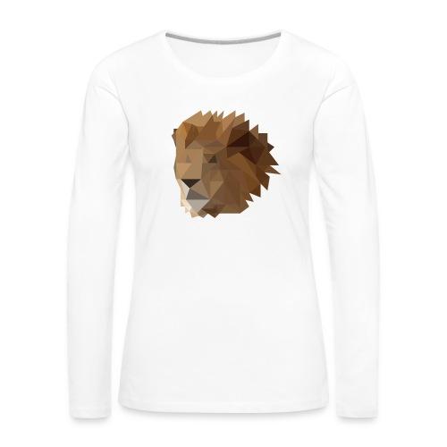 Löwe - Frauen Premium Langarmshirt