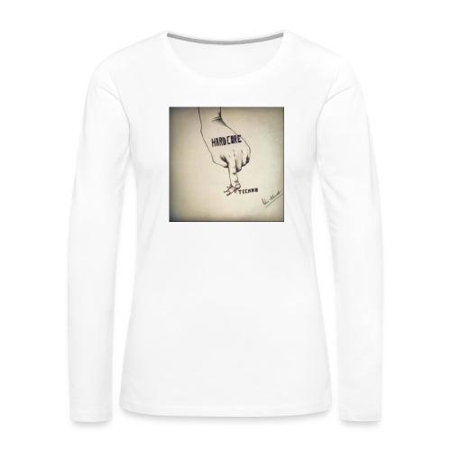 DerHardstyle.ch Hard_Core Techno - Frauen Premium Langarmshirt