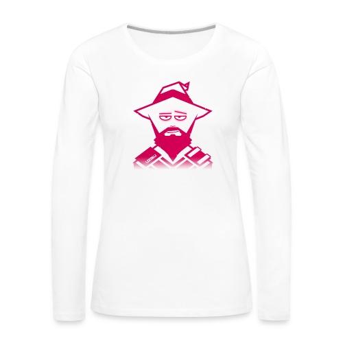 uzalu the Wizard - Women's Premium Longsleeve Shirt