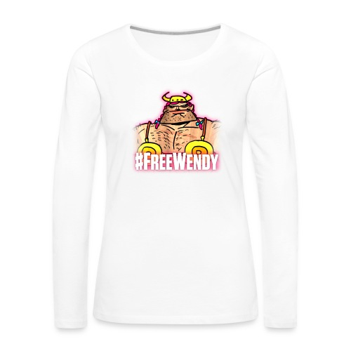 #FreeWendy - Women's Premium Longsleeve Shirt