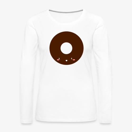 Happy Doughnut - Women's Premium Longsleeve Shirt