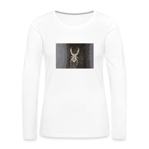 attacking spider - Frauen Premium Langarmshirt