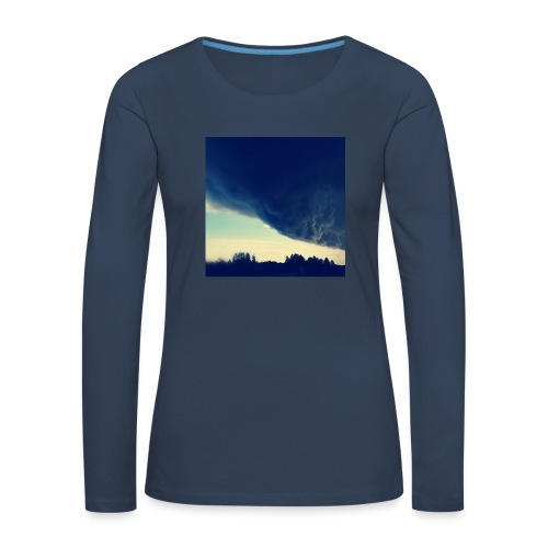 Be The Storm - Naisten premium pitkähihainen t-paita