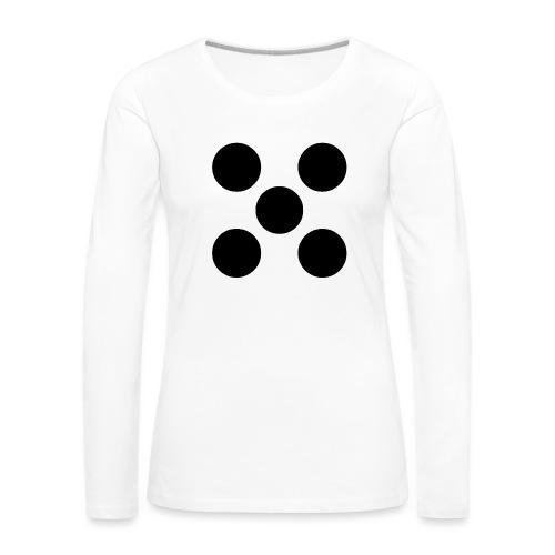Dado - Camiseta de manga larga premium mujer