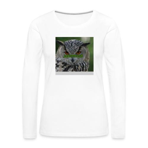 JohannesB lue - Premium langermet T-skjorte for kvinner