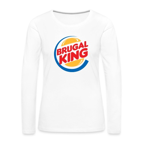Brugal King - Camiseta de manga larga premium mujer