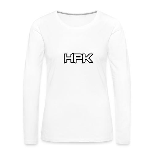 Het play kanaal logo - Vrouwen Premium shirt met lange mouwen