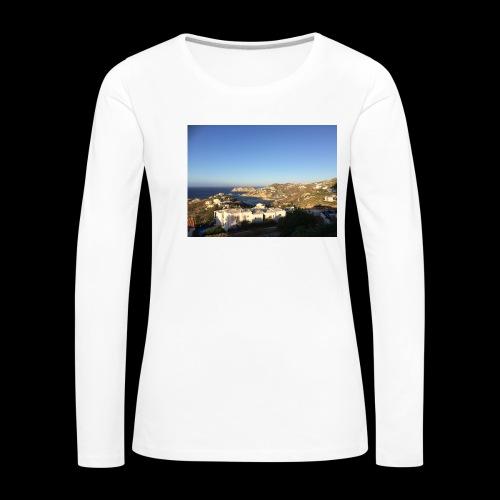 creece - Vrouwen Premium shirt met lange mouwen