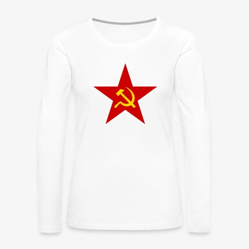 Communism Logo - Women's Premium Longsleeve Shirt