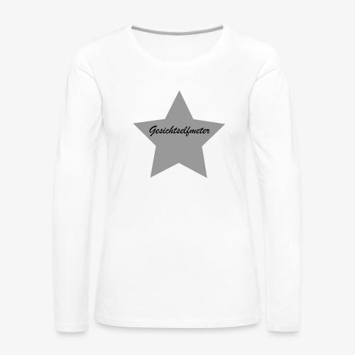 Gesichtselfmeter - Frauen Premium Langarmshirt