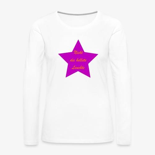Leuchte - Frauen Premium Langarmshirt