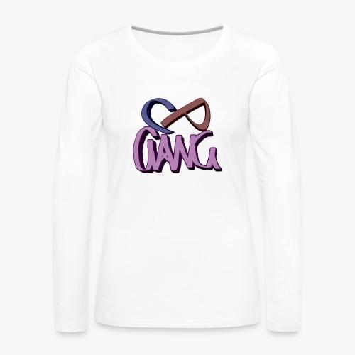 CP-GANG - Naisten premium pitkähihainen t-paita