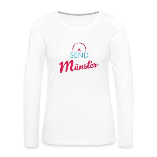 Send Münster - Frauen Premium Langarmshirt
