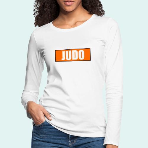 Judo Orange 5. Kyu - Frauen Premium Langarmshirt
