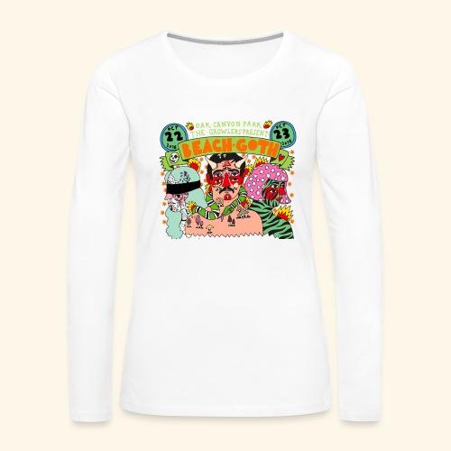 beach goth 2016 - T-shirt manches longues Premium Femme