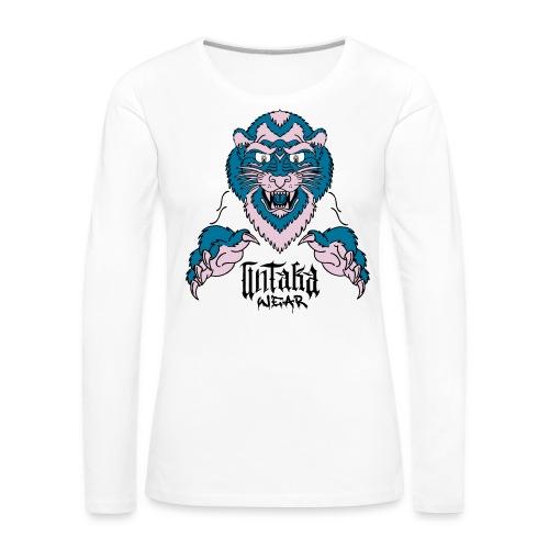 w52 a 3k lionuw - T-shirt manches longues Premium Femme