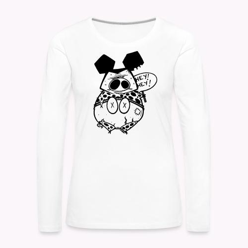 ugly pig - Maglietta Premium a manica lunga da donna