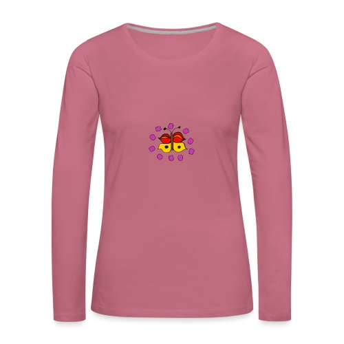 Butterfly colorful - Women's Premium Longsleeve Shirt