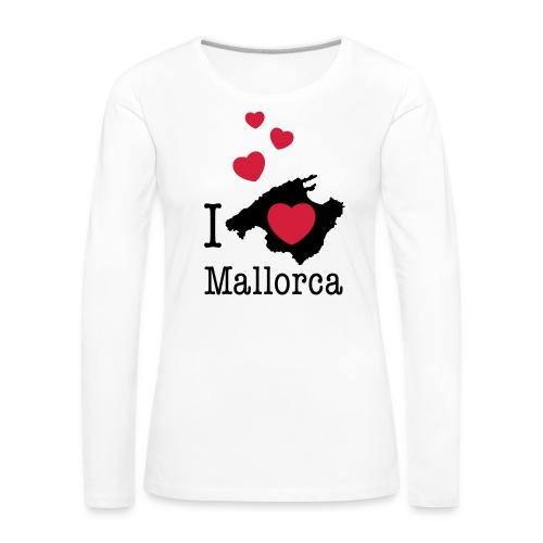love Mallorca Balearen Spanien Ferieninsel Urlaub - Women's Premium Longsleeve Shirt