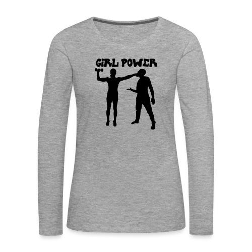 GIRL POWER hits - Camiseta de manga larga premium mujer