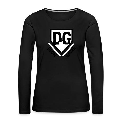 doomcap - Vrouwen Premium shirt met lange mouwen