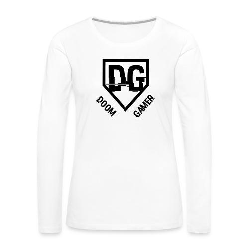 doom trui - Vrouwen Premium shirt met lange mouwen