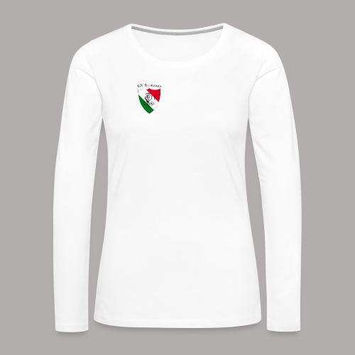 Wappen Struthonia (vorne) - Frauen Premium Langarmshirt