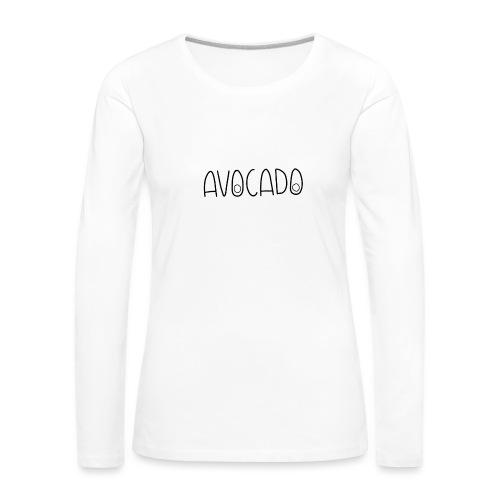 Avocado - Frauen Premium Langarmshirt