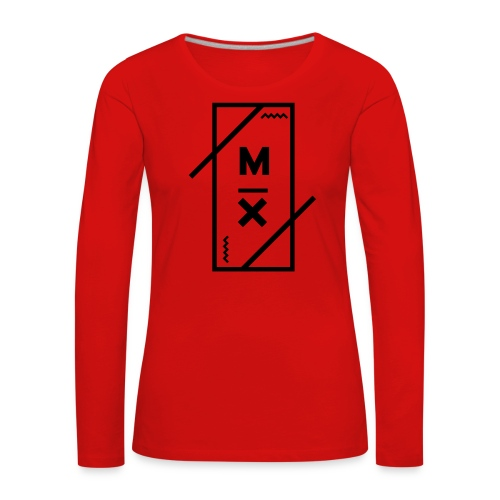 MX_9000 - Vrouwen Premium shirt met lange mouwen