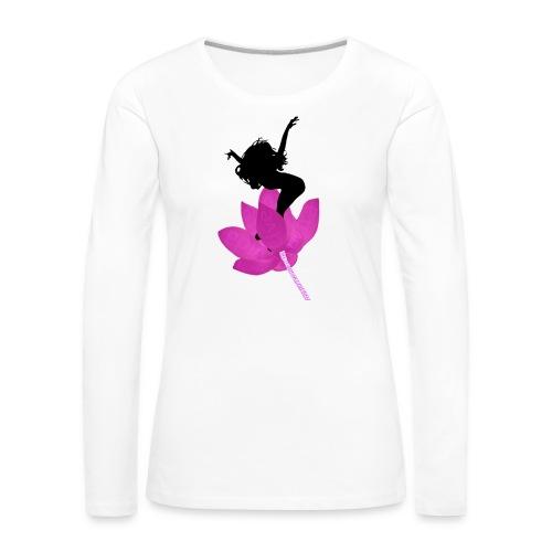 Jump life - Camiseta de manga larga premium mujer