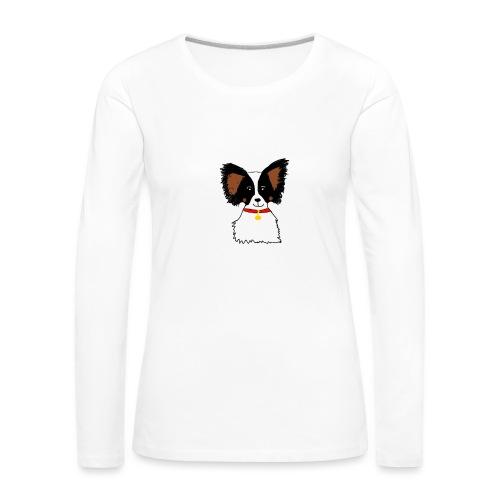 Papillon dog - Women's Premium Longsleeve Shirt