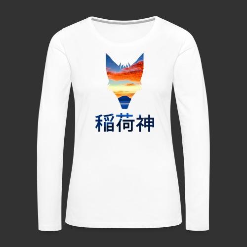 Inari Fox (Fuji Edition) - T-shirt manches longues Premium Femme