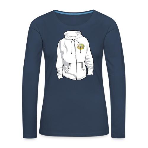 hoodyfront - Vrouwen Premium shirt met lange mouwen