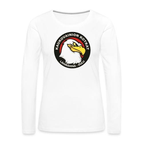 Kaukovainion Kotkat - Naisten premium pitkähihainen t-paita