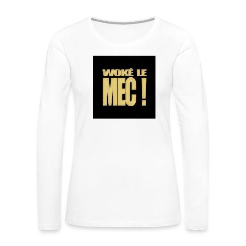 badgewoke - T-shirt manches longues Premium Femme