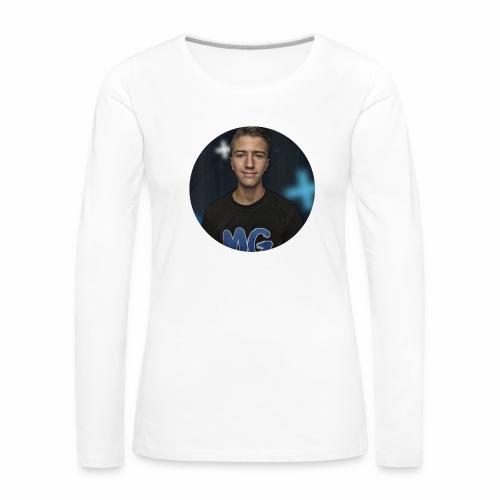 Design blala - Vrouwen Premium shirt met lange mouwen