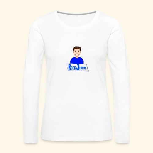 RickJeremymerchandise - Vrouwen Premium shirt met lange mouwen