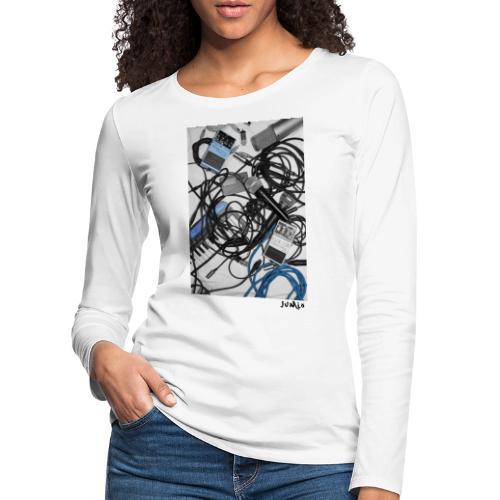 Jumio Print - Naisten premium pitkähihainen t-paita