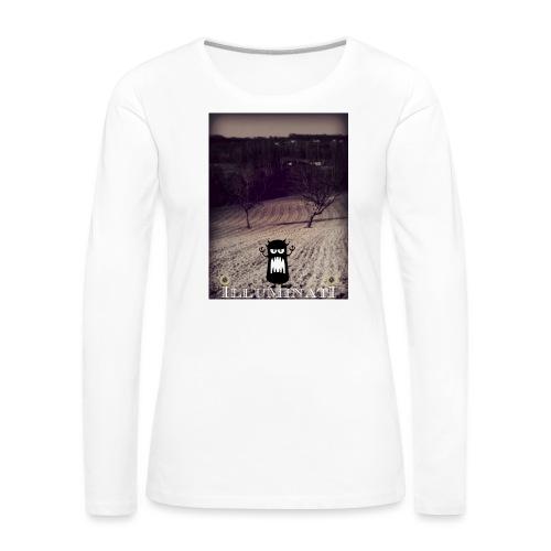 illuminati - T-shirt manches longues Premium Femme