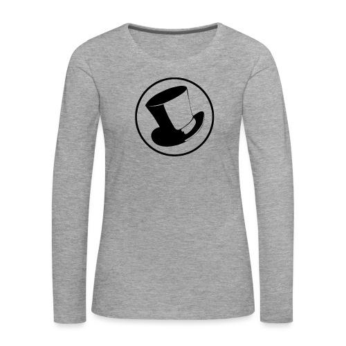 GLASS HAT - Camiseta de manga larga premium mujer