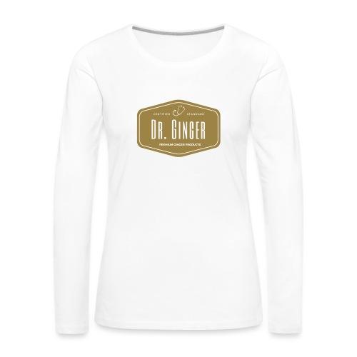 Dr. Ginger - Frauen Premium Langarmshirt