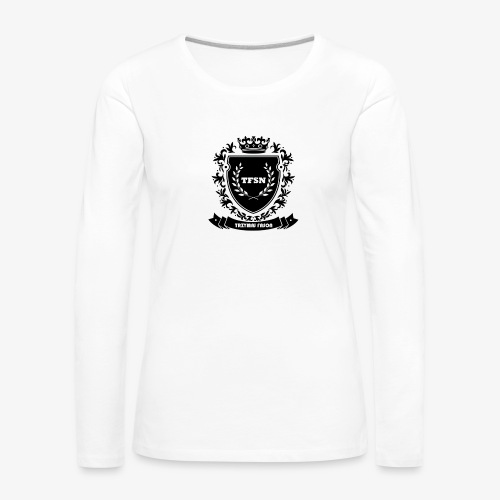 Trzymaj Fason - Koszulka damska Premium z długim rękawem