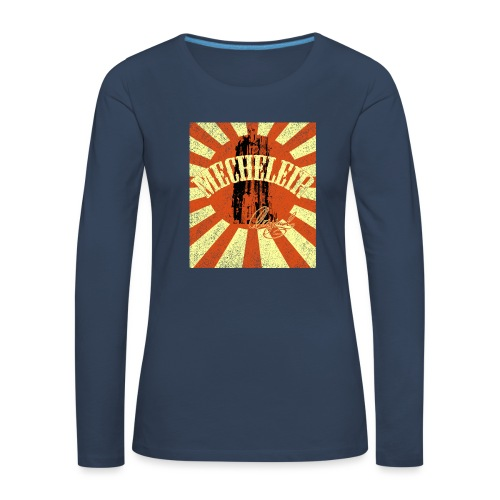 MecheleirOriginal5a - Vrouwen Premium shirt met lange mouwen