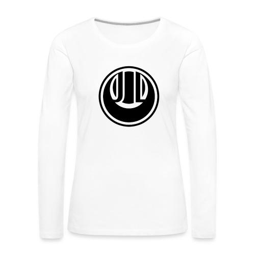 JADE LUNE MONOCHROME (INVERTED) - Women's Premium Longsleeve Shirt